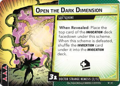 Open the Dark Dimension