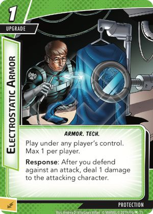 Electrostatic Armor