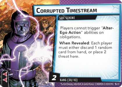 Corrupted Timestream